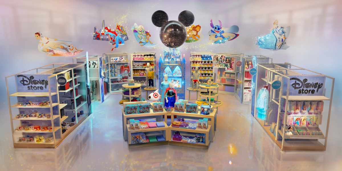 Target to Open Dozens of Disney Stores in the Next Year