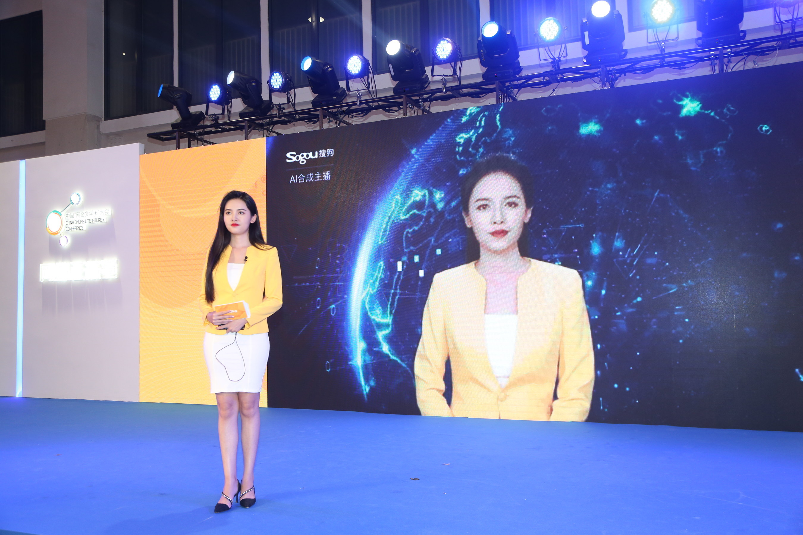 Chinese search engine Sogou is showing how their are so many potential future use cases for their lifelike, artificially intelligent avatars.