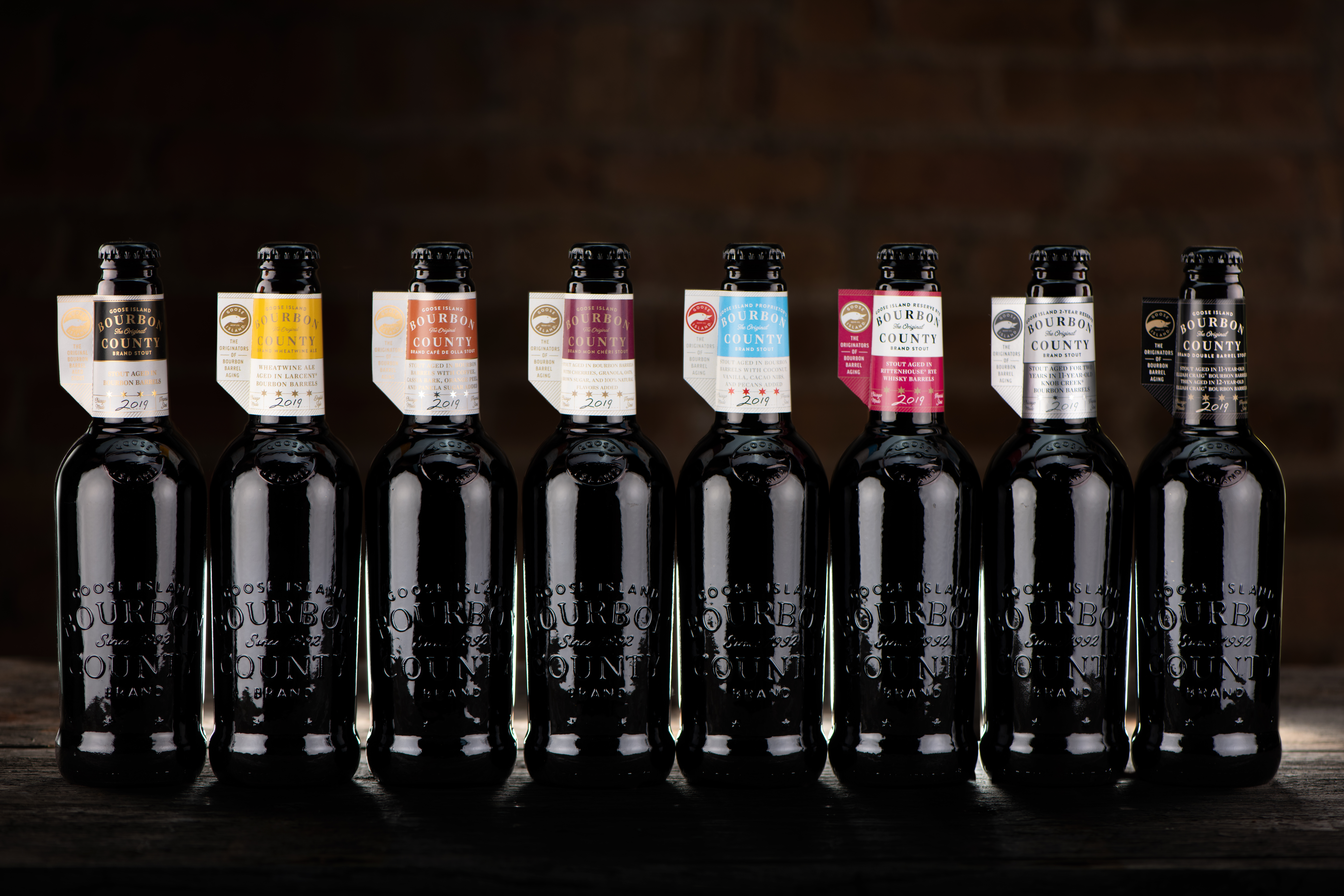 2019 Goose Island Bourbon County Stout Full Lineup