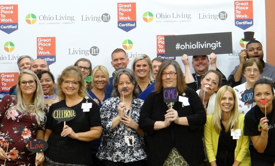Best Workplaces Aging Services 2019-Ohio Living