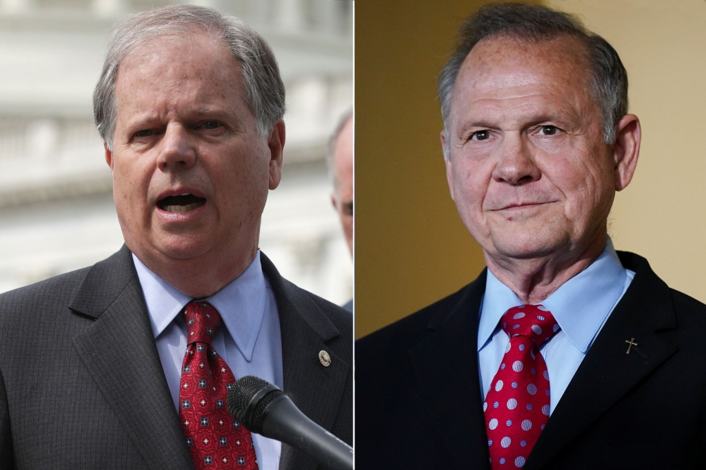 Doug Jones-Roy Moore