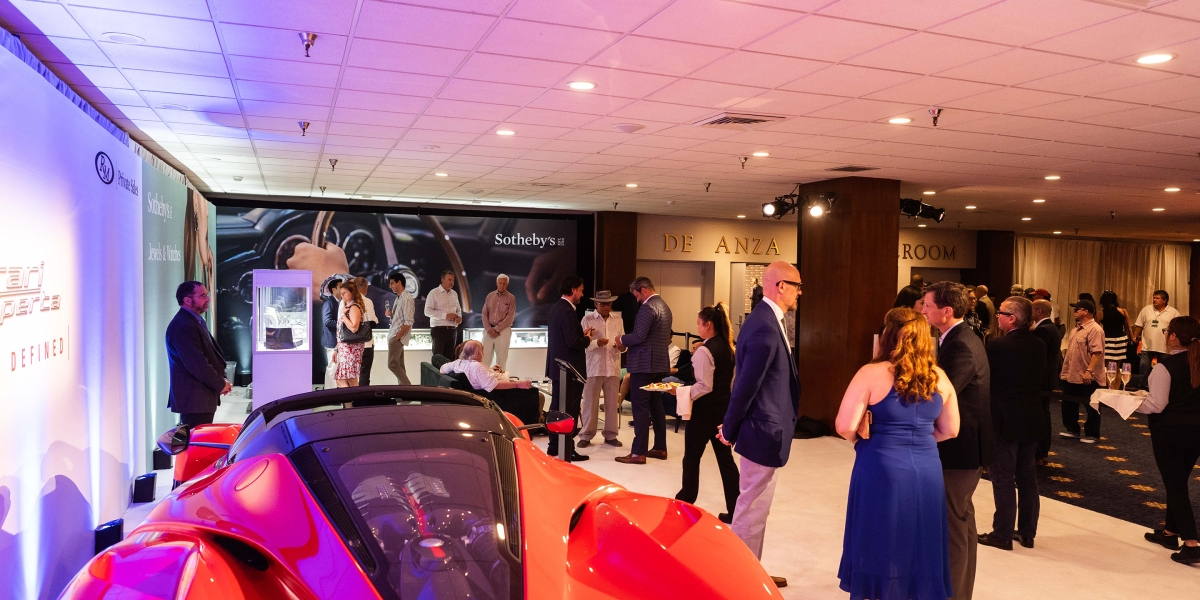 The Future of Auctions Might Rely on Luxury Items