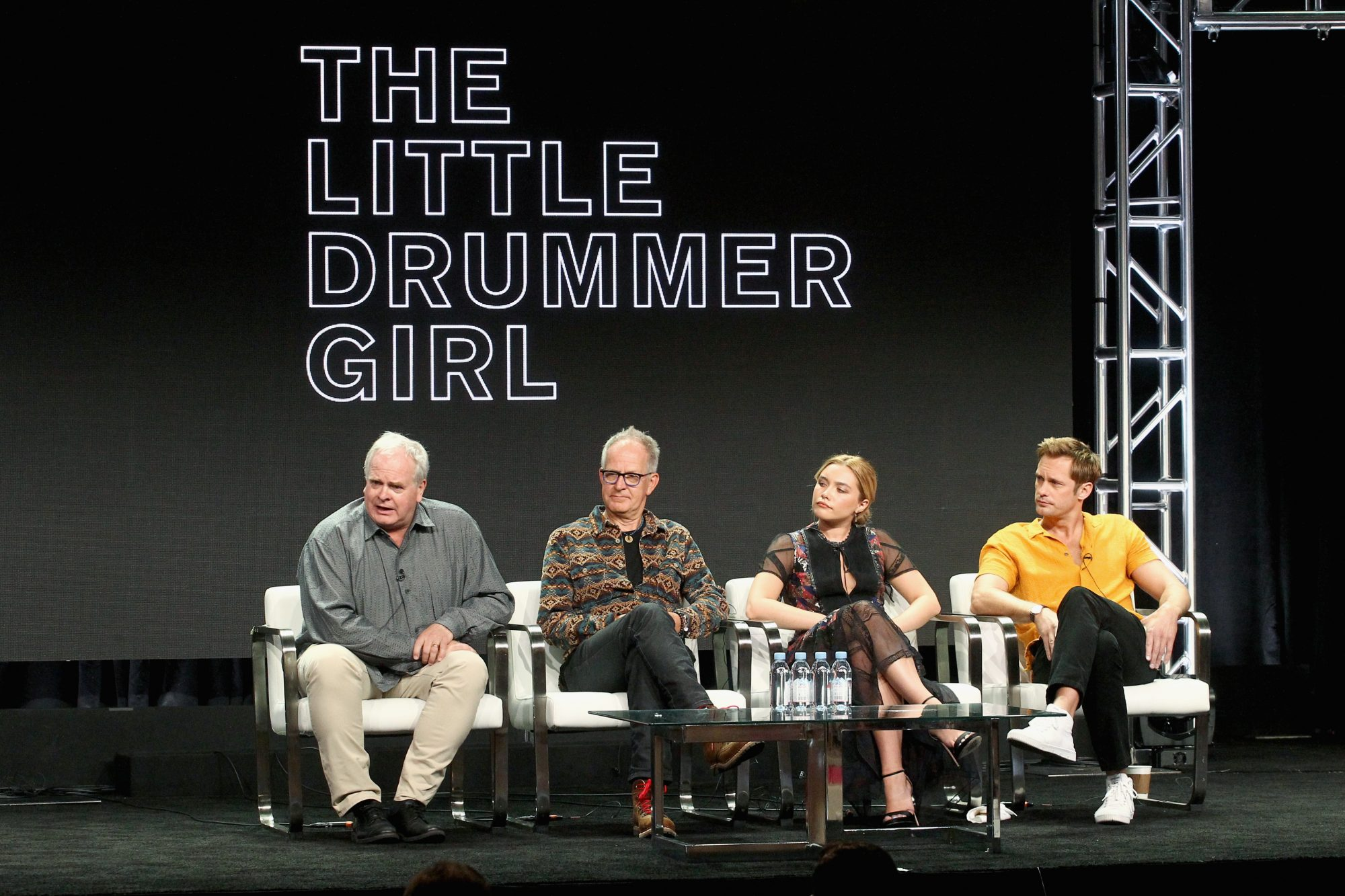 Actors discuss Tv series The Little Drummer girl