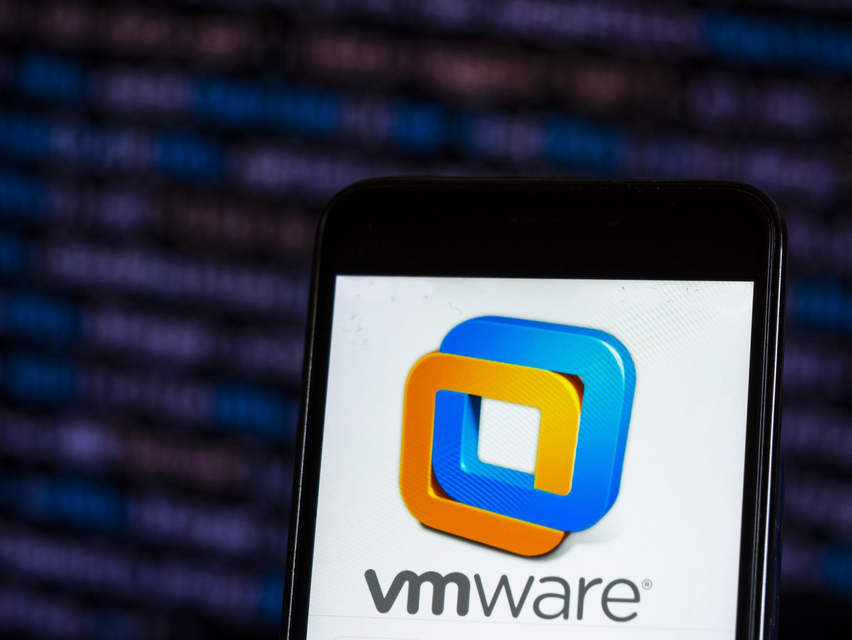 VMware Computer software company logo