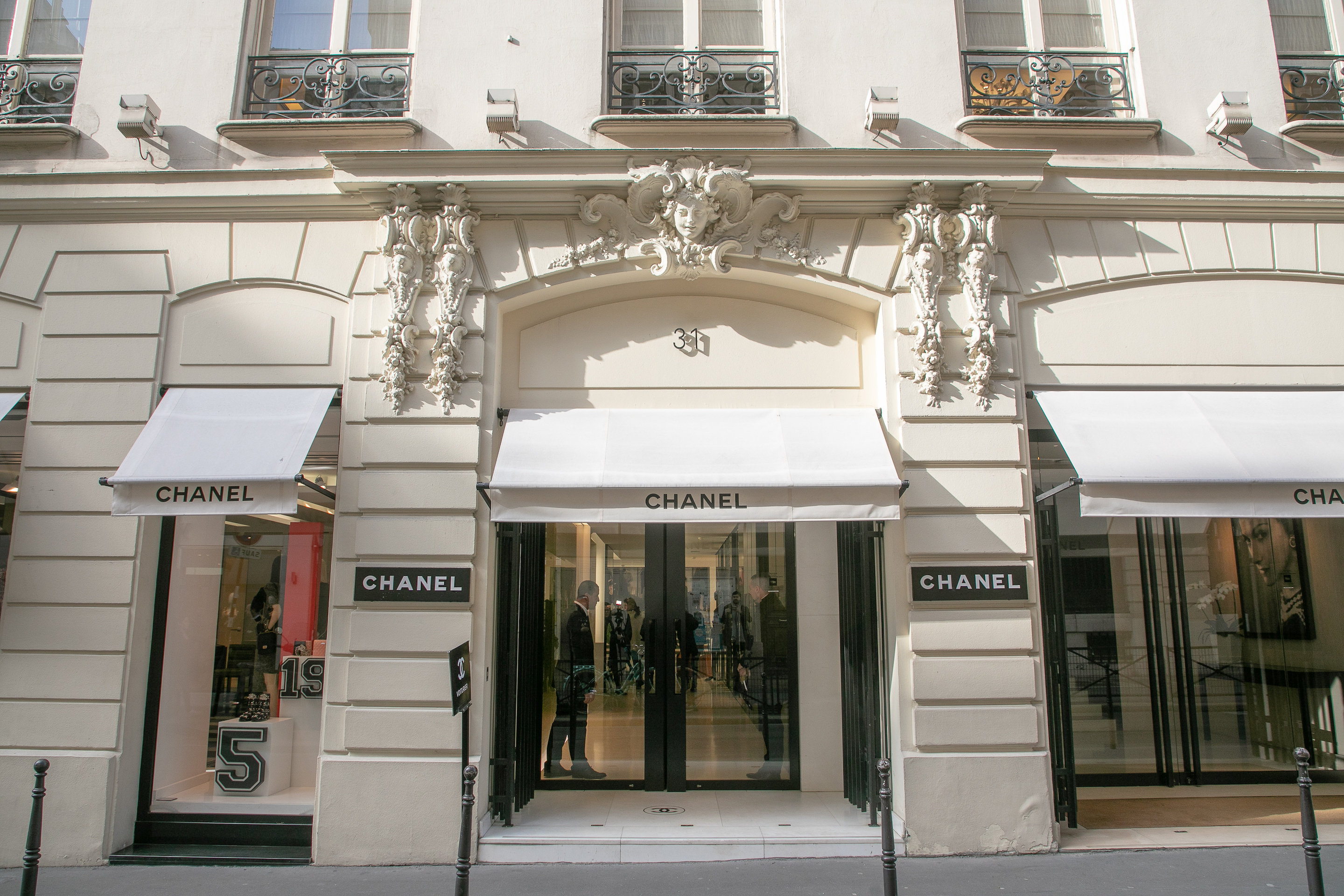 Paris-based Chanel, a family run business since 1924.