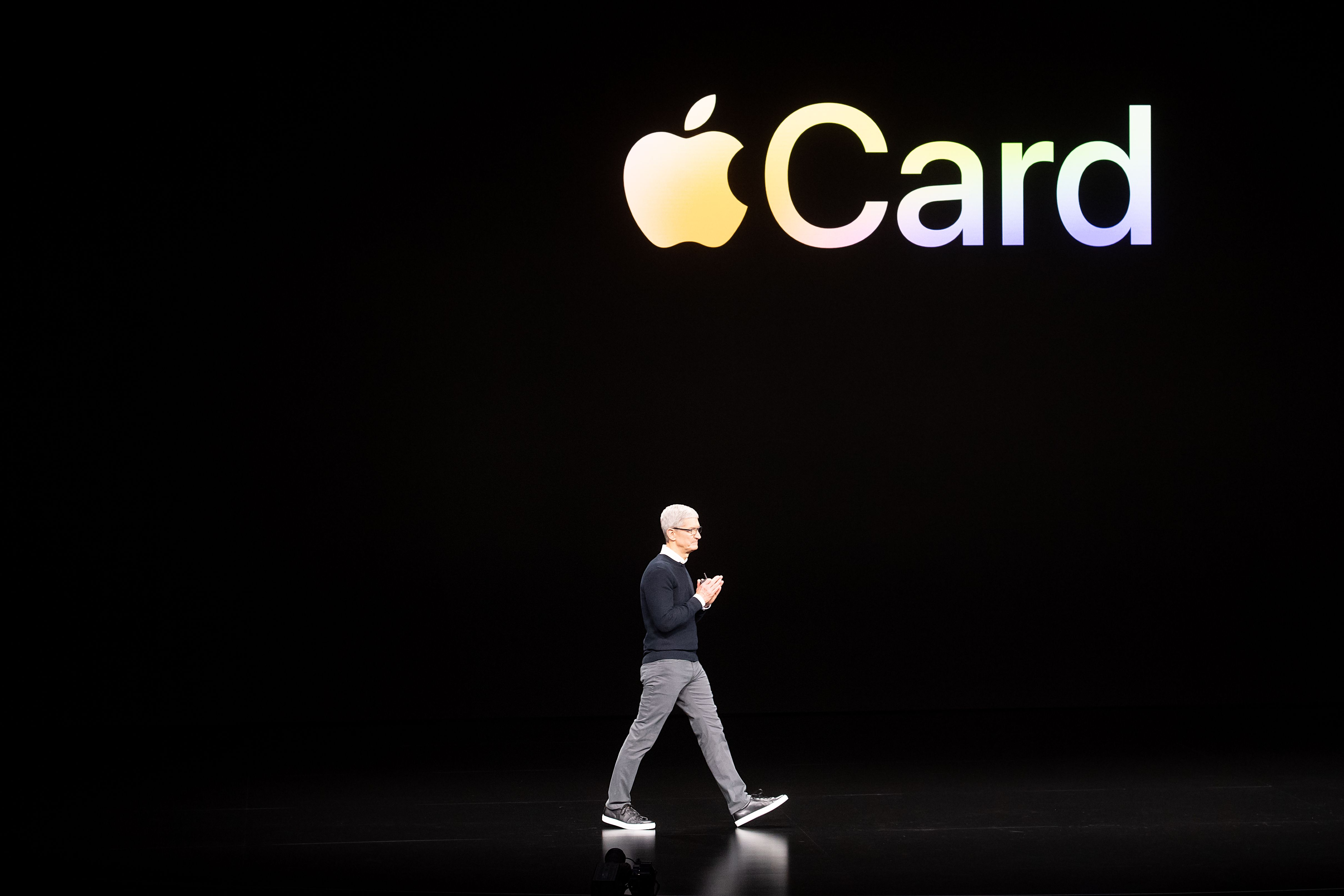 tim cook talks about the apple card