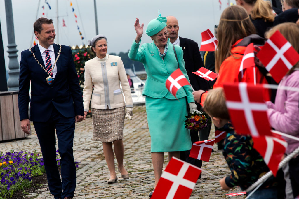 President Trump is expected to meet with Denmark's Queen Margrethe, but Trump now says he's unsure if he's making the trip