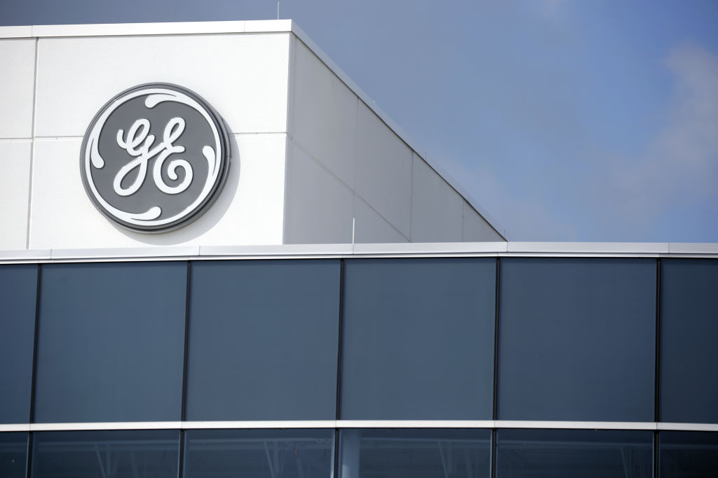GE's stock fell sharply on Thursday after allegations about its accounting practices.