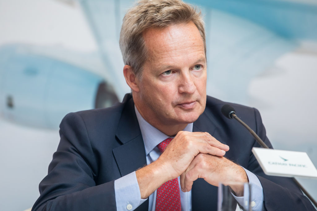 Cathay Pacific CEO Rupert Hogg resigns
