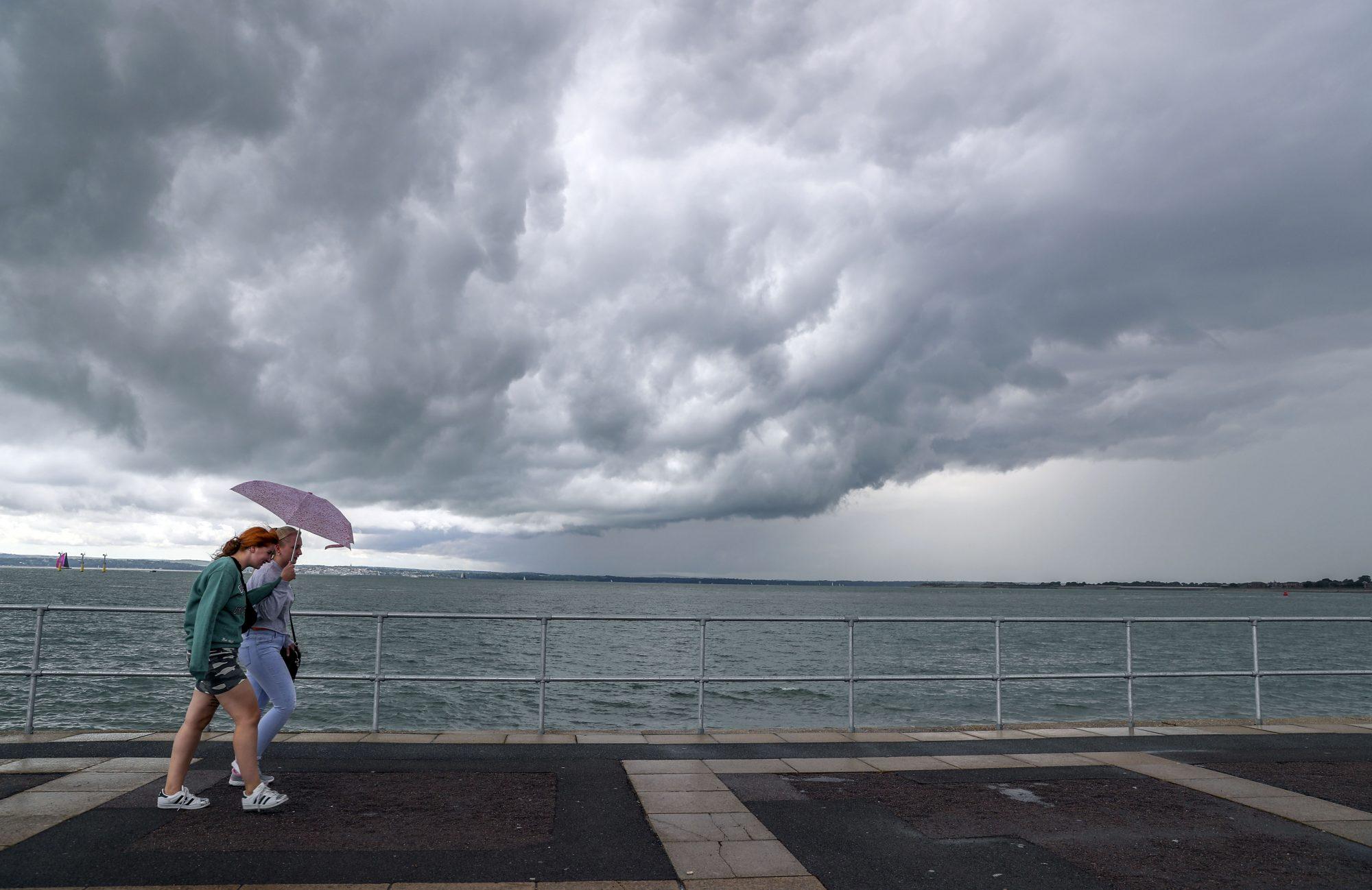 a summer thunderstorm