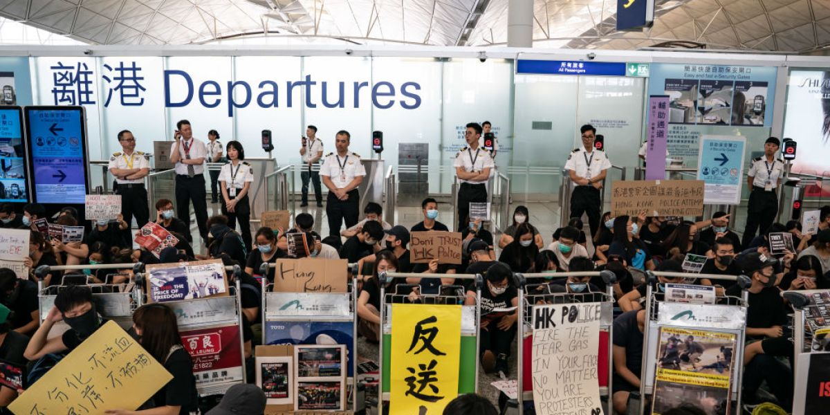 From the Civil Rights Era to Hong Kong: How Airports Became a Global Symbol of Protest
