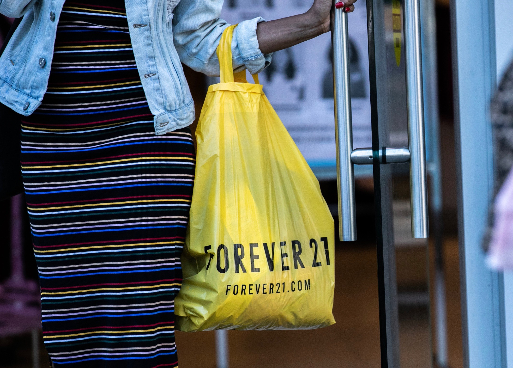 Forever 21 locations As Clothing Store Plans Potential Bankruptcy