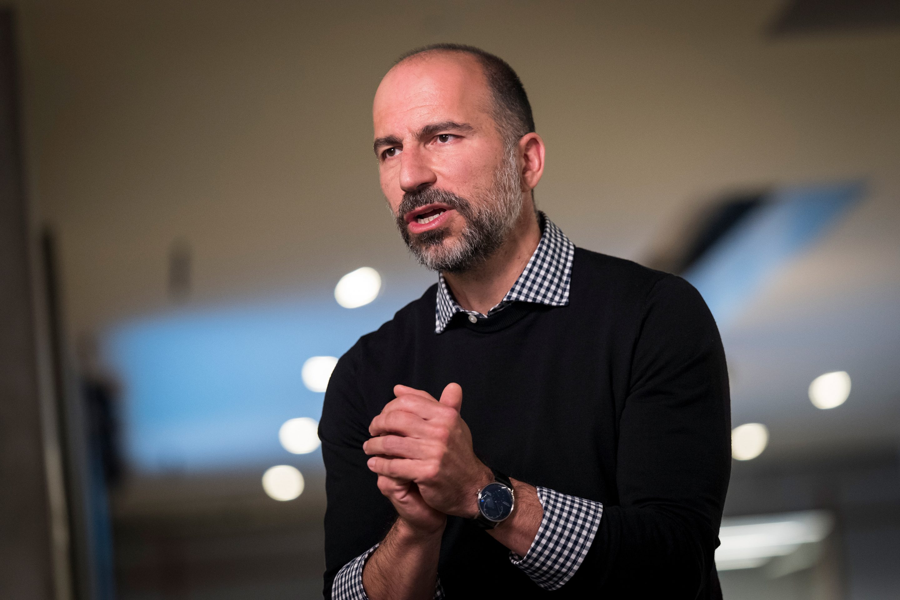Uber Technologies Inc. CEO Dara Khosrowshahi Interview