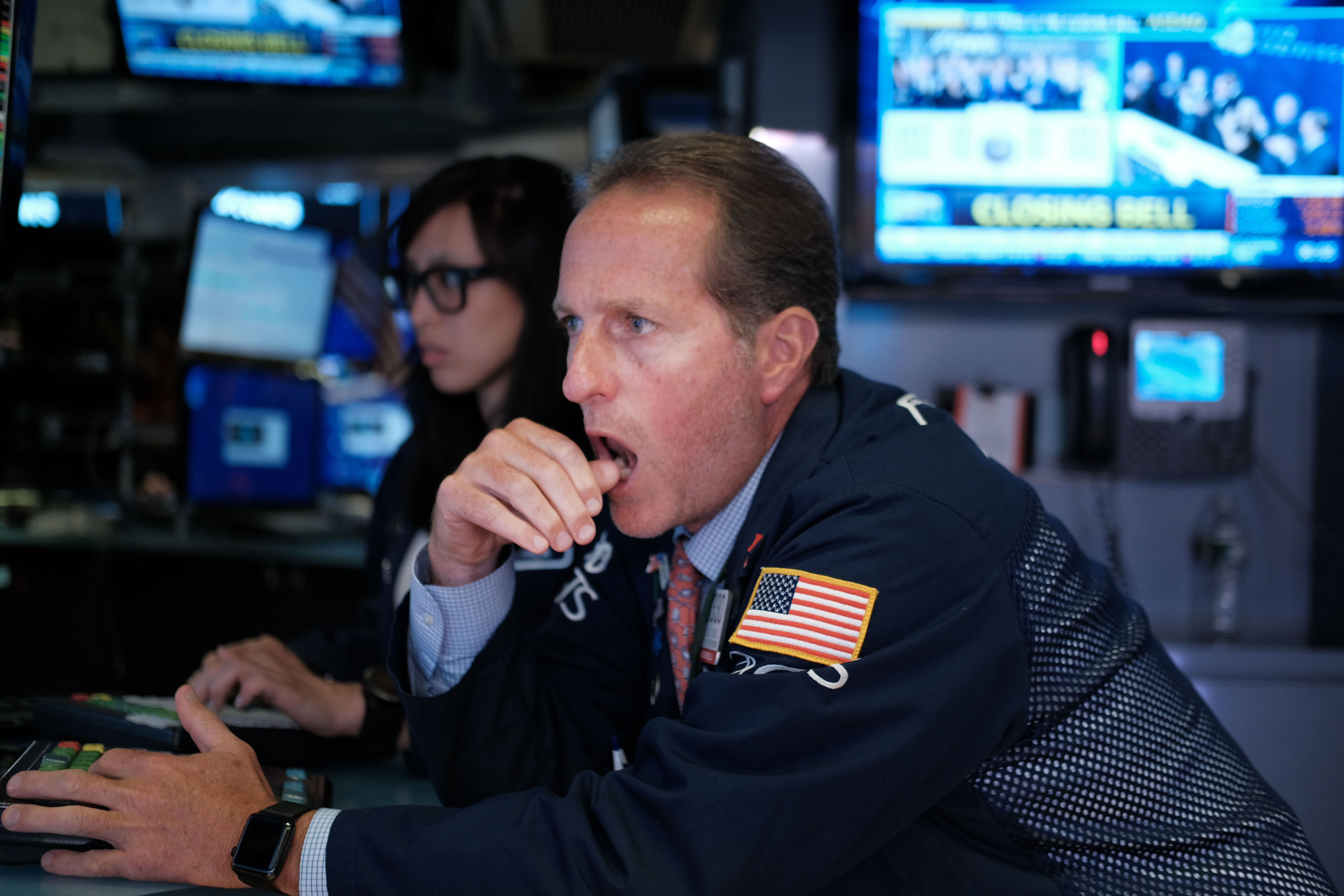 Dow Plunges Over 700 Points On U.S.-China Trade Tensions
