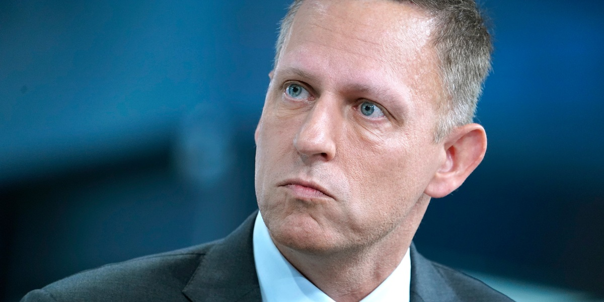 Peter Thiel Has Largely Sold All of His Facebook Stock