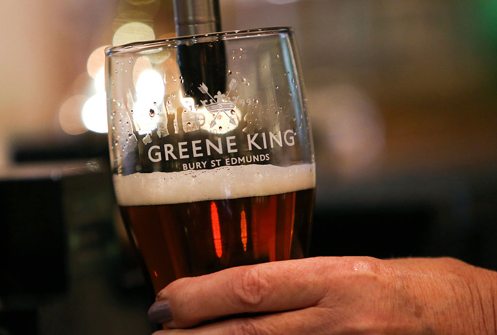 Beer Production At Greene King Plc's Brewery Ahead Of Results
