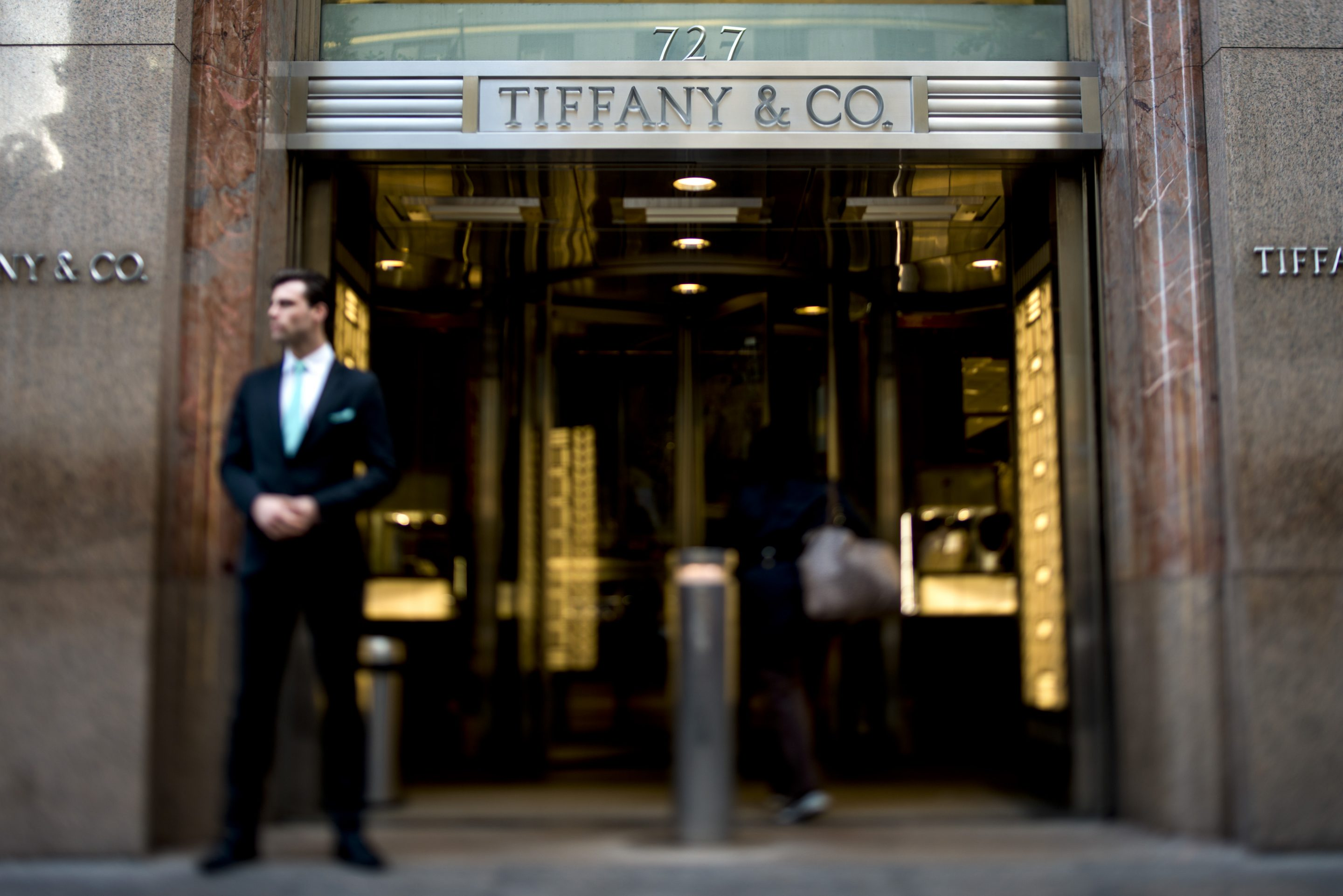 Tiffany & Co.'s flagship store in New York City. This fall, the venerable luxury jewelry launches a new men's collection.
