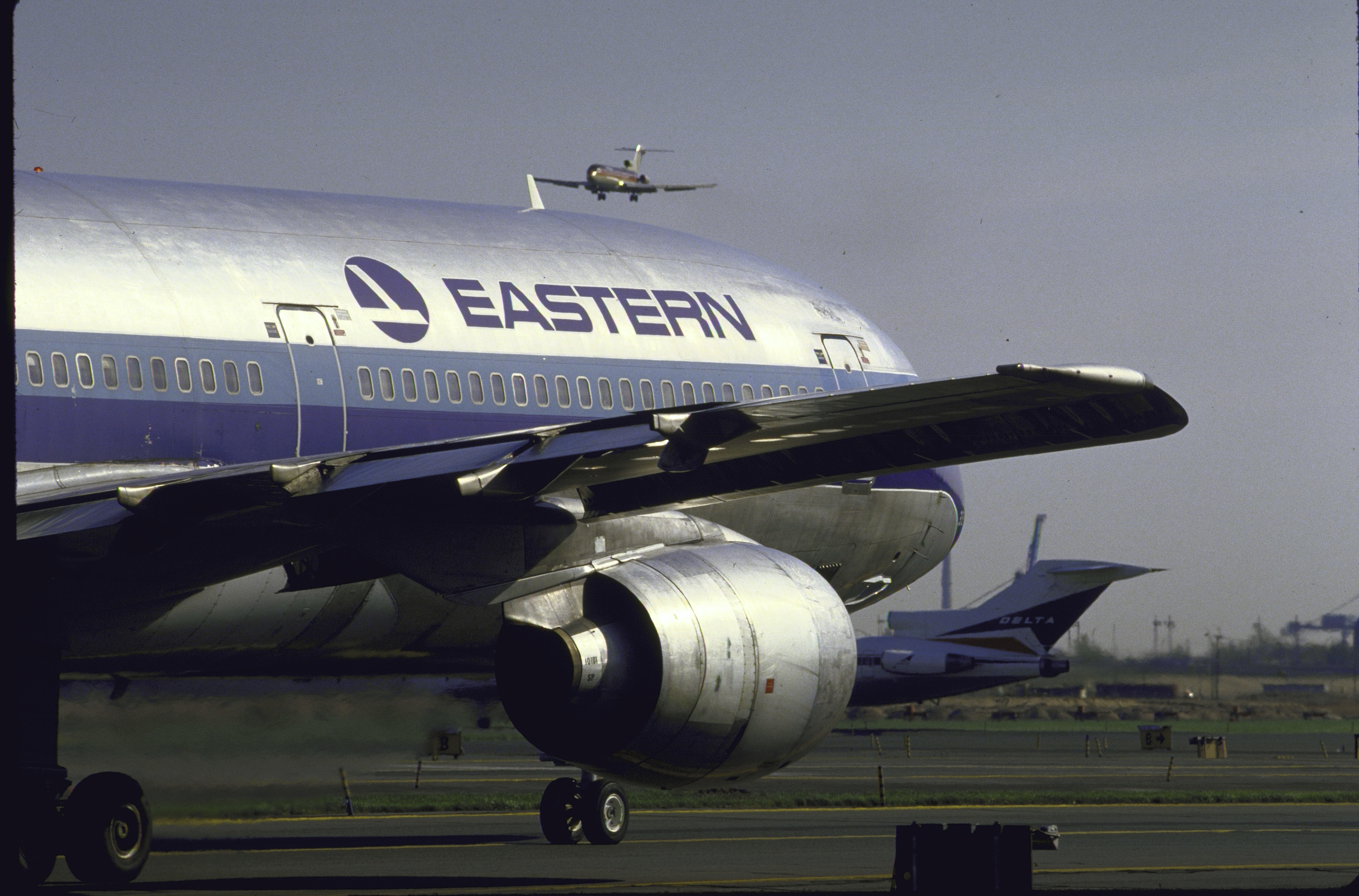 An Eastern Airlines jet