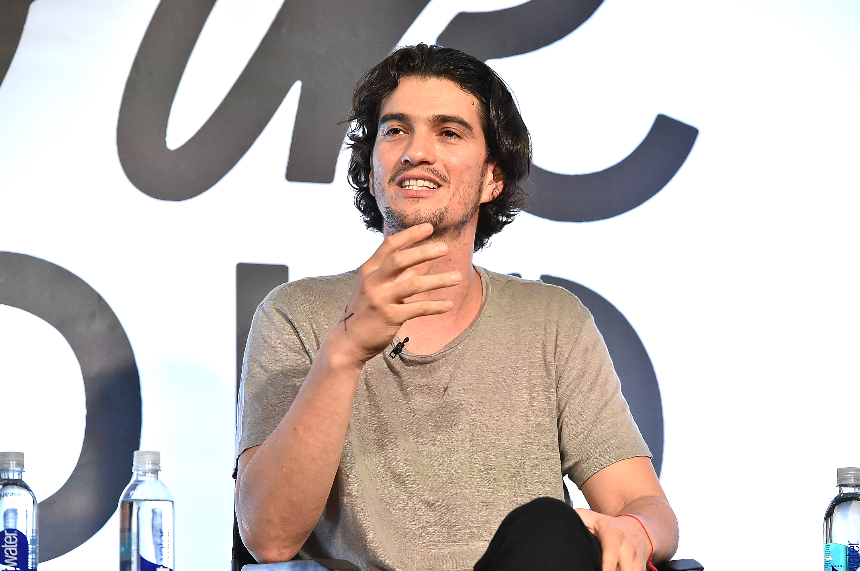"Adam Neumann attends the iHeartMedia and WeWork host launch event to introduce new partnership and ""Work Radio"" at WeWork's New York City headquarters in Chelsea, June 14, 2016."