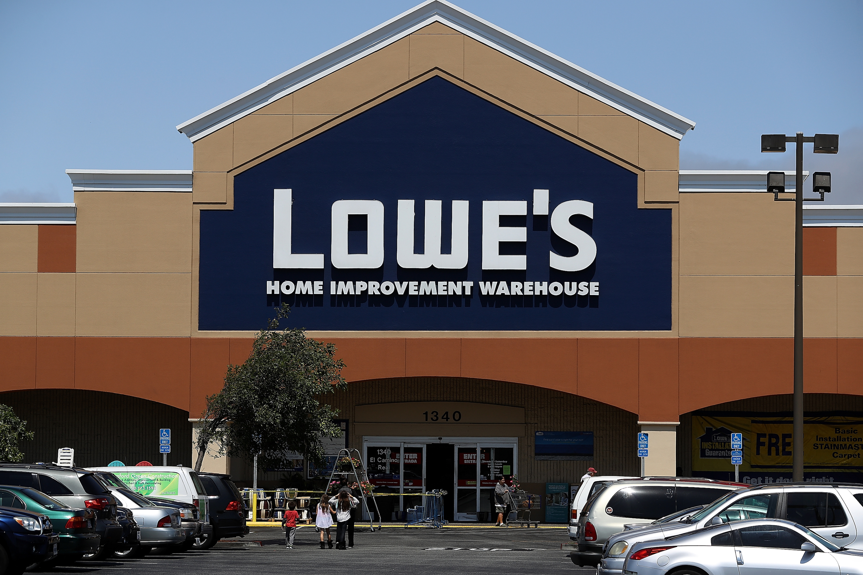 Lowe's posted strong second-quarter profits, boosting optimism for the flagging home-improvement chain's future.