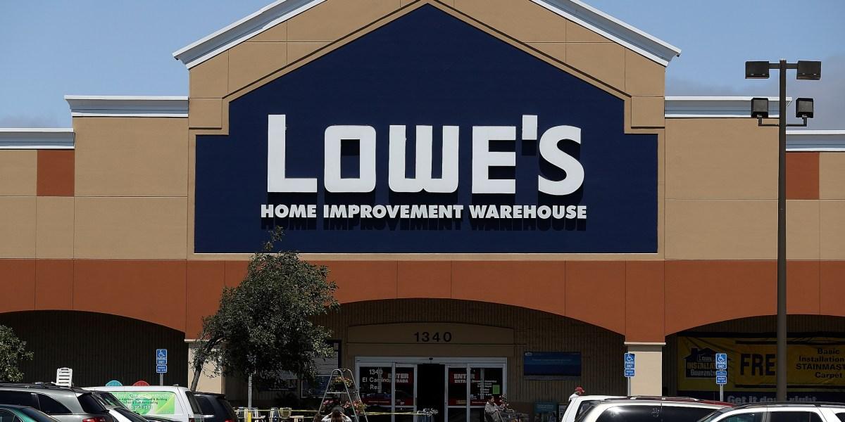 Lowe's Signals a Rebound
