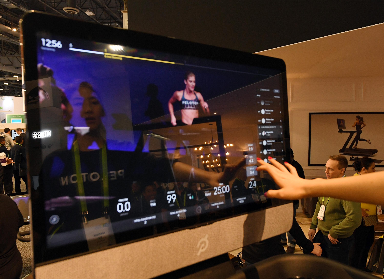 a peloton interactive treadmill