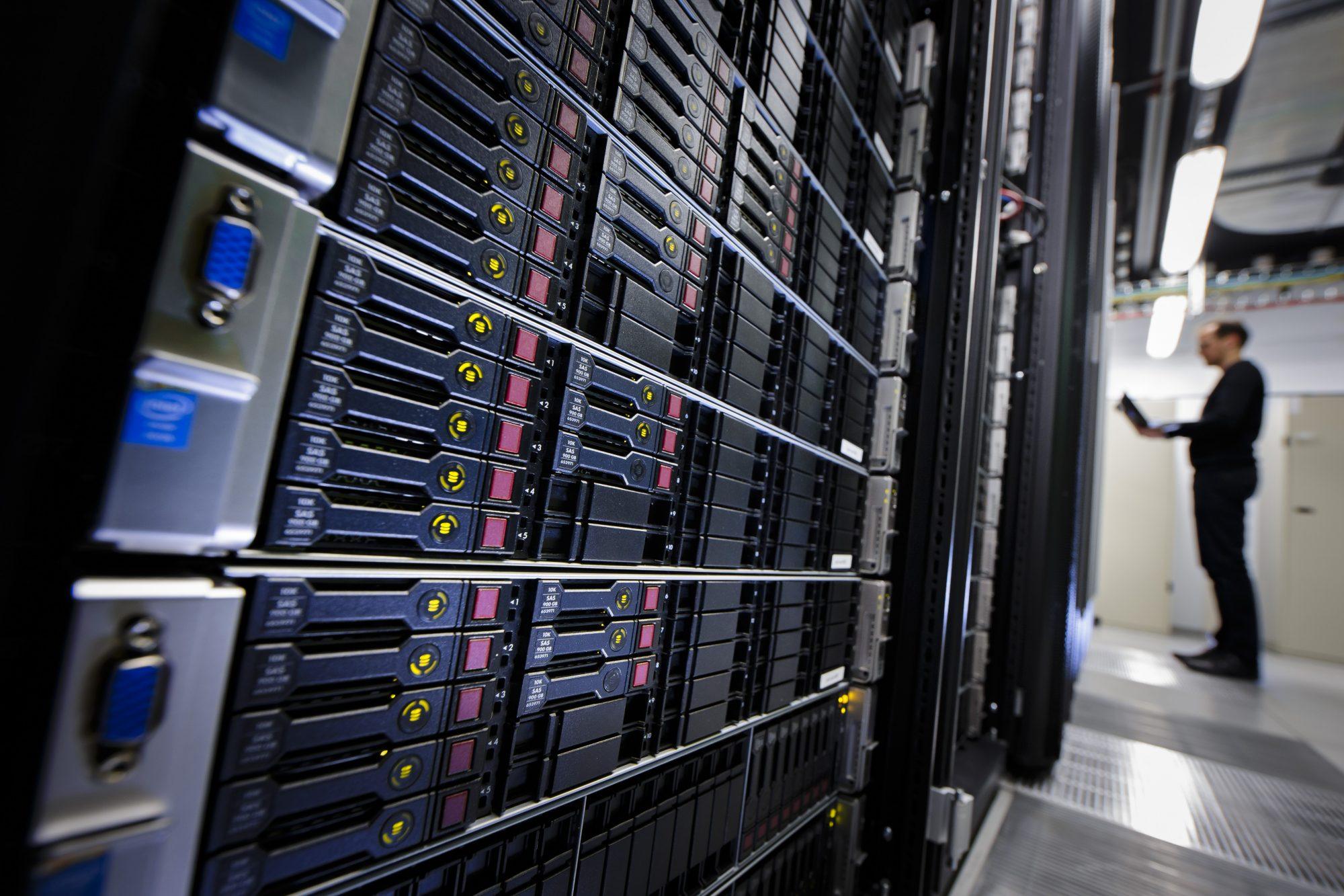 a server center