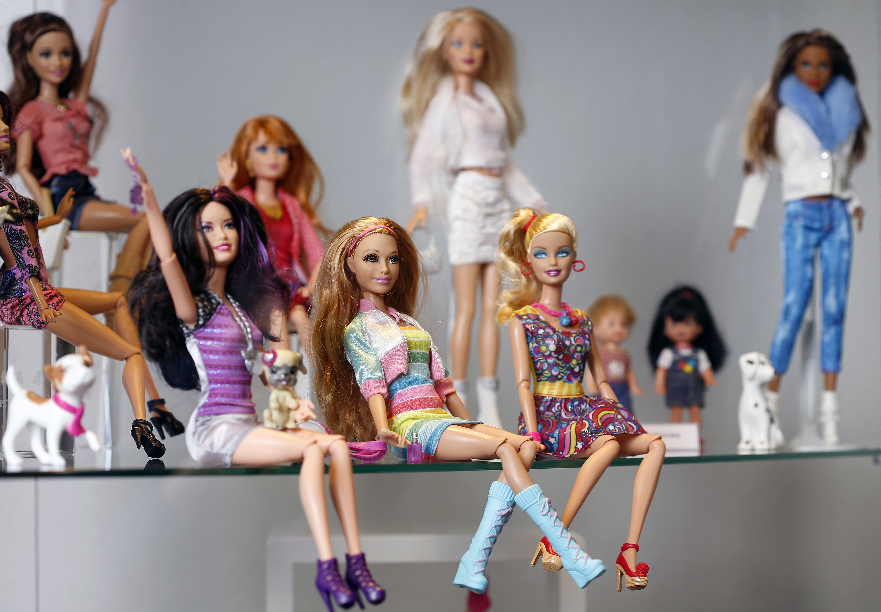 Mattel Hasbro Shares Barbie