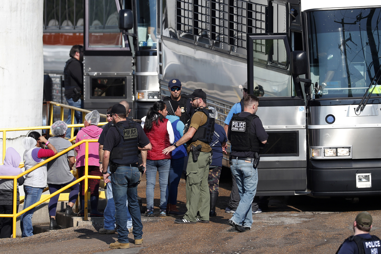 Mississippi Immigration Food Plant Raids ICE