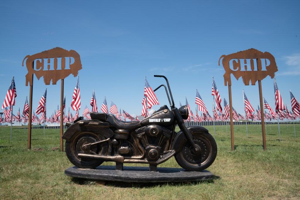 Sturgis Motorcycle Rally-buffalo chip