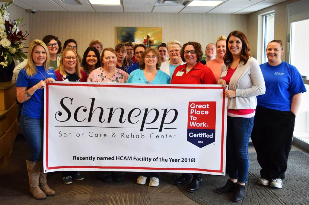 Best Workplaces Aging Services 2019-Schnepp Senior Care