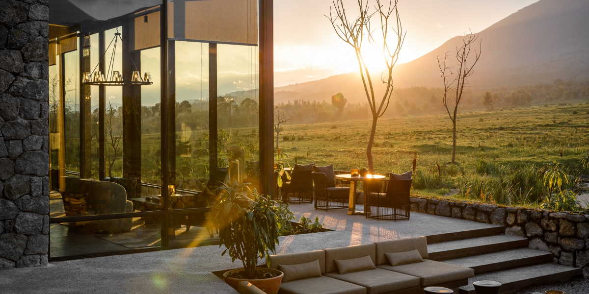 Rwanda's Newest Luxury Safari Lodge Offers a Plush Sanctuary for Your Next Getaway