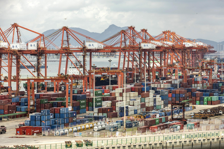 Tariffs Trade War-Xiamen Port Authority China