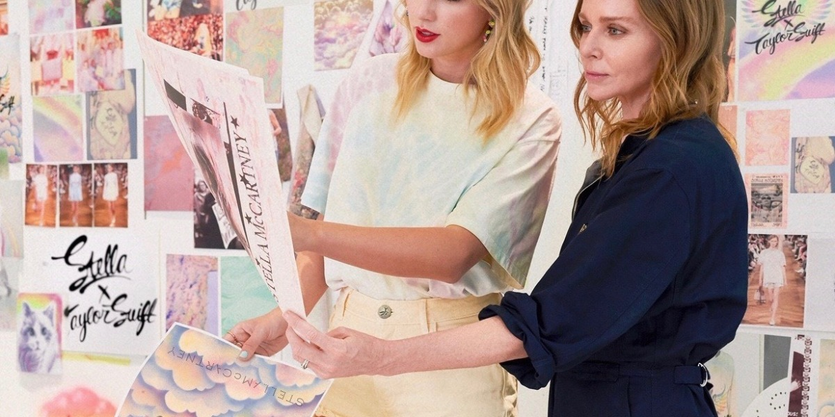Taylor Swift and Stella McCartney Release 'Lover' Fashion Collection