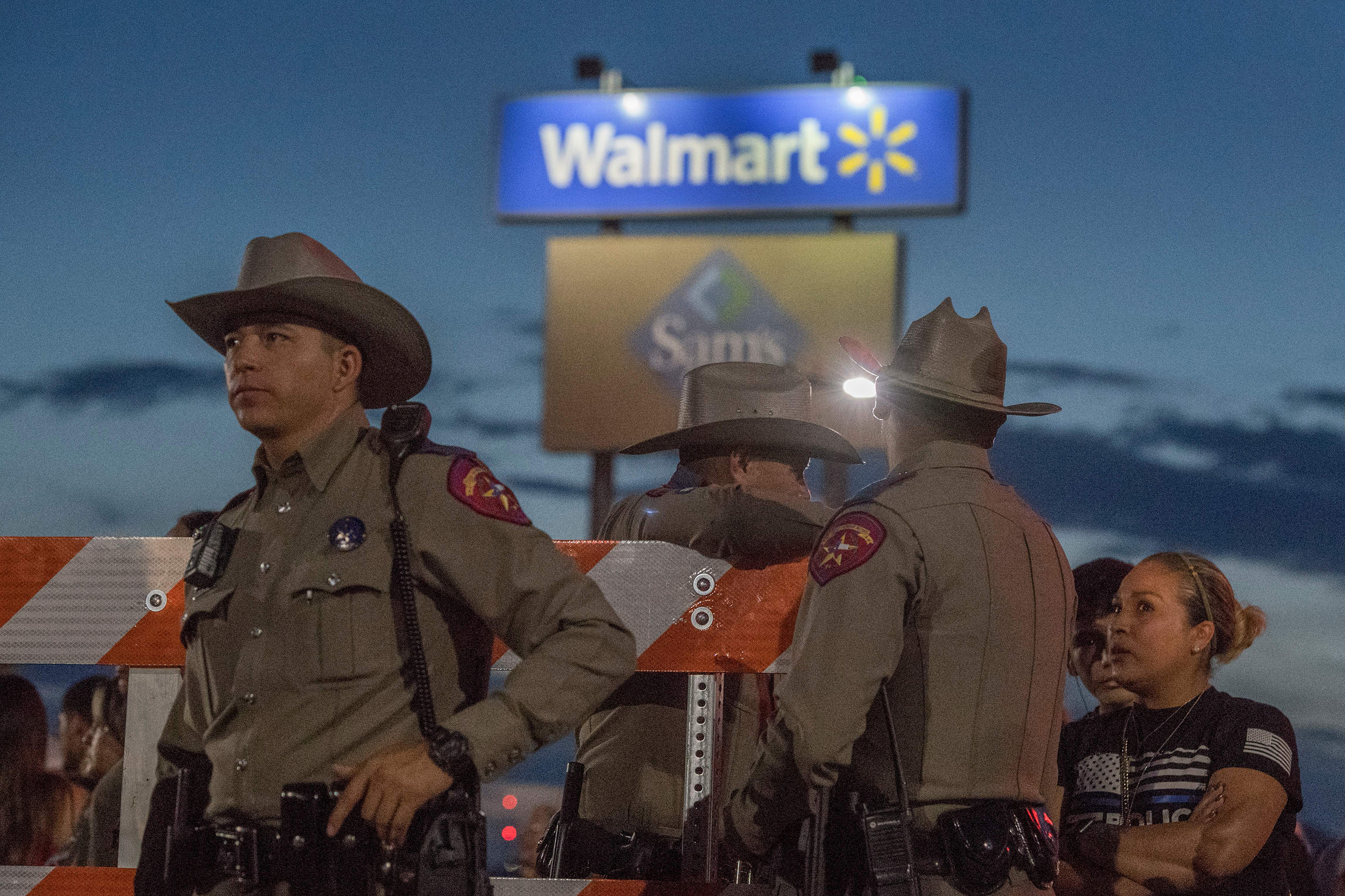 Texas Troopers Walmart Mass Shooting