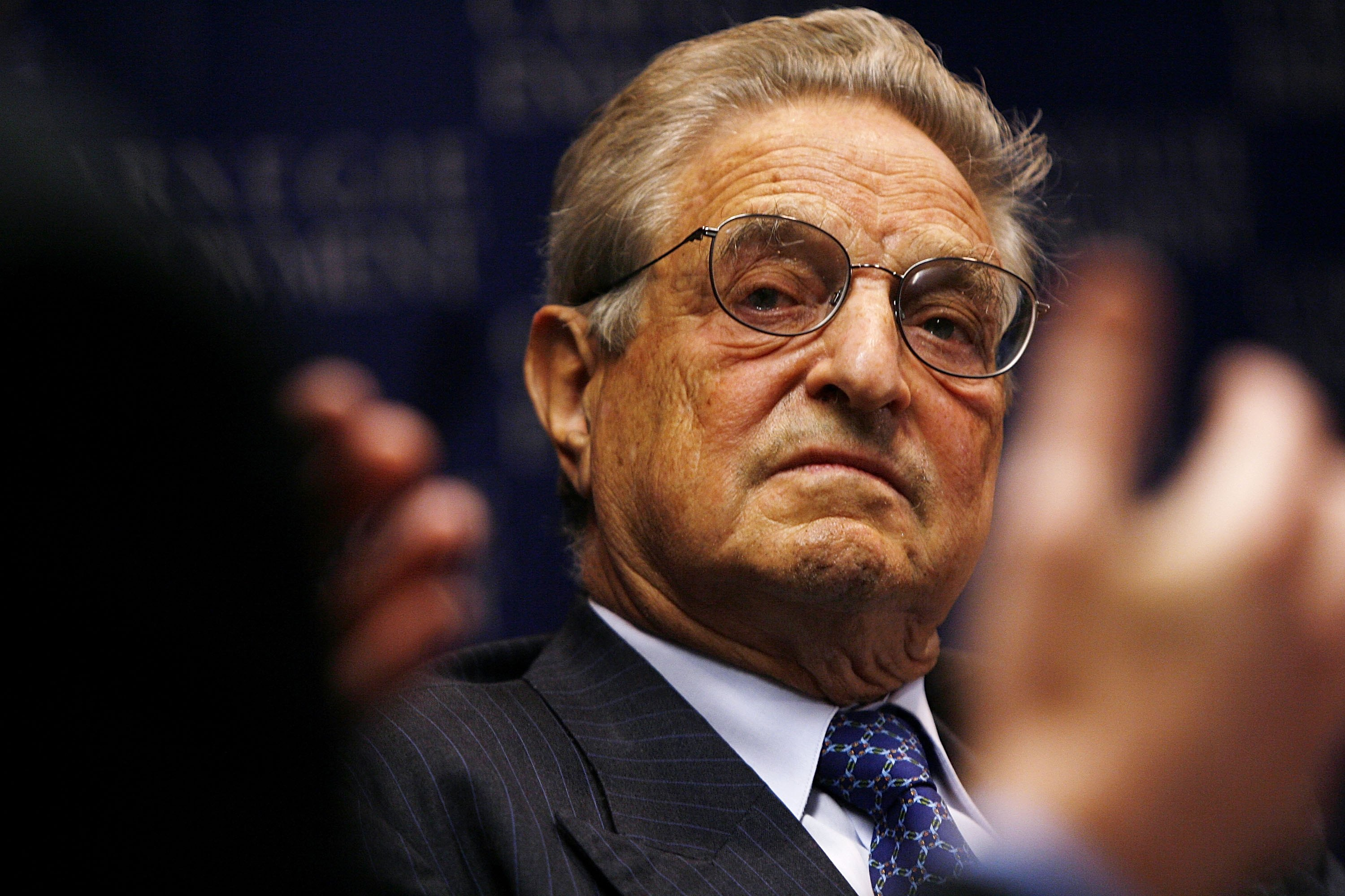 George Soros Speaks At Carnegie Endowment