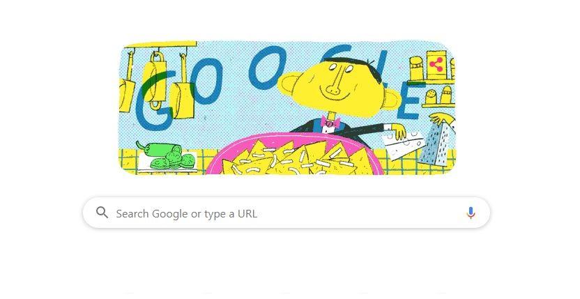 Google Doodle Ignacio Anaya García