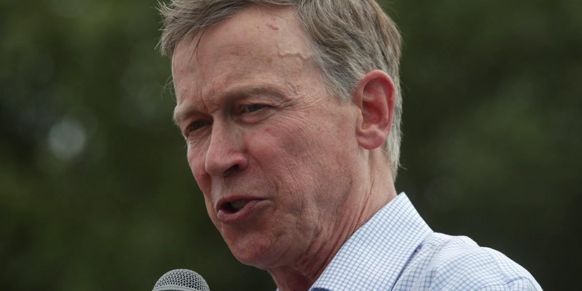 John Hickenlooper Drops Presidential Bid, Will Run for Senate Instead