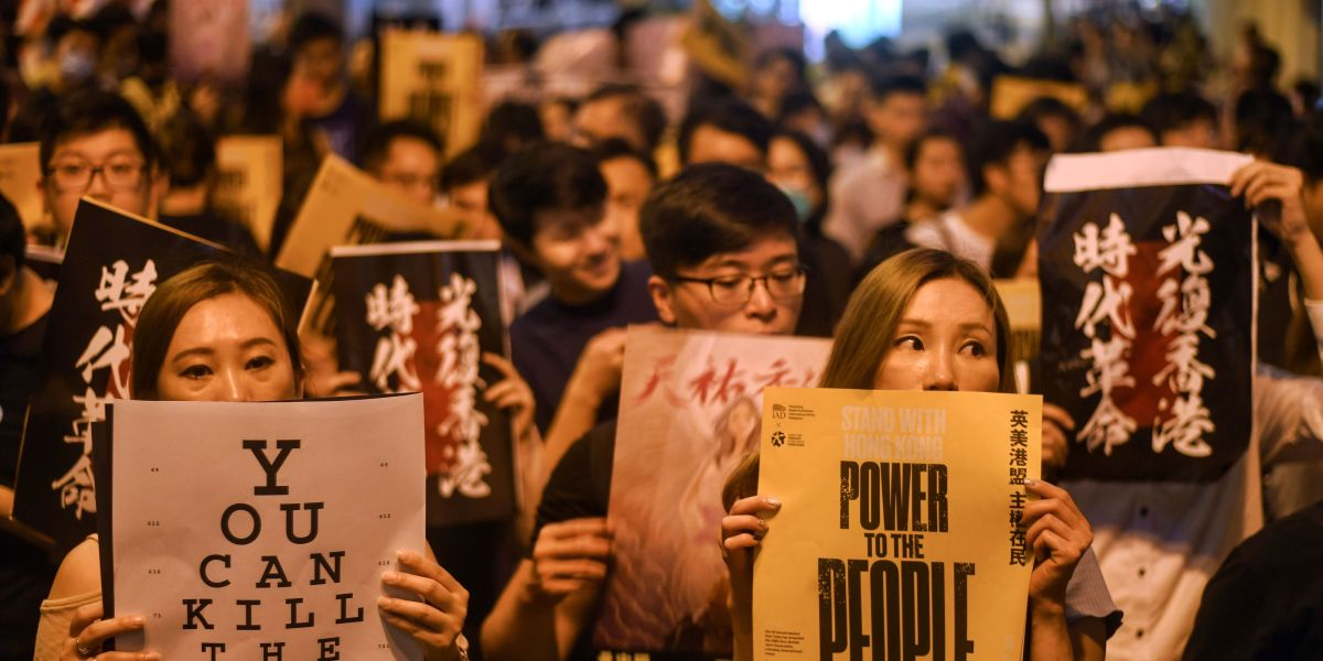 How Trump Could Quickly Raise the Stakes in Hong Kong