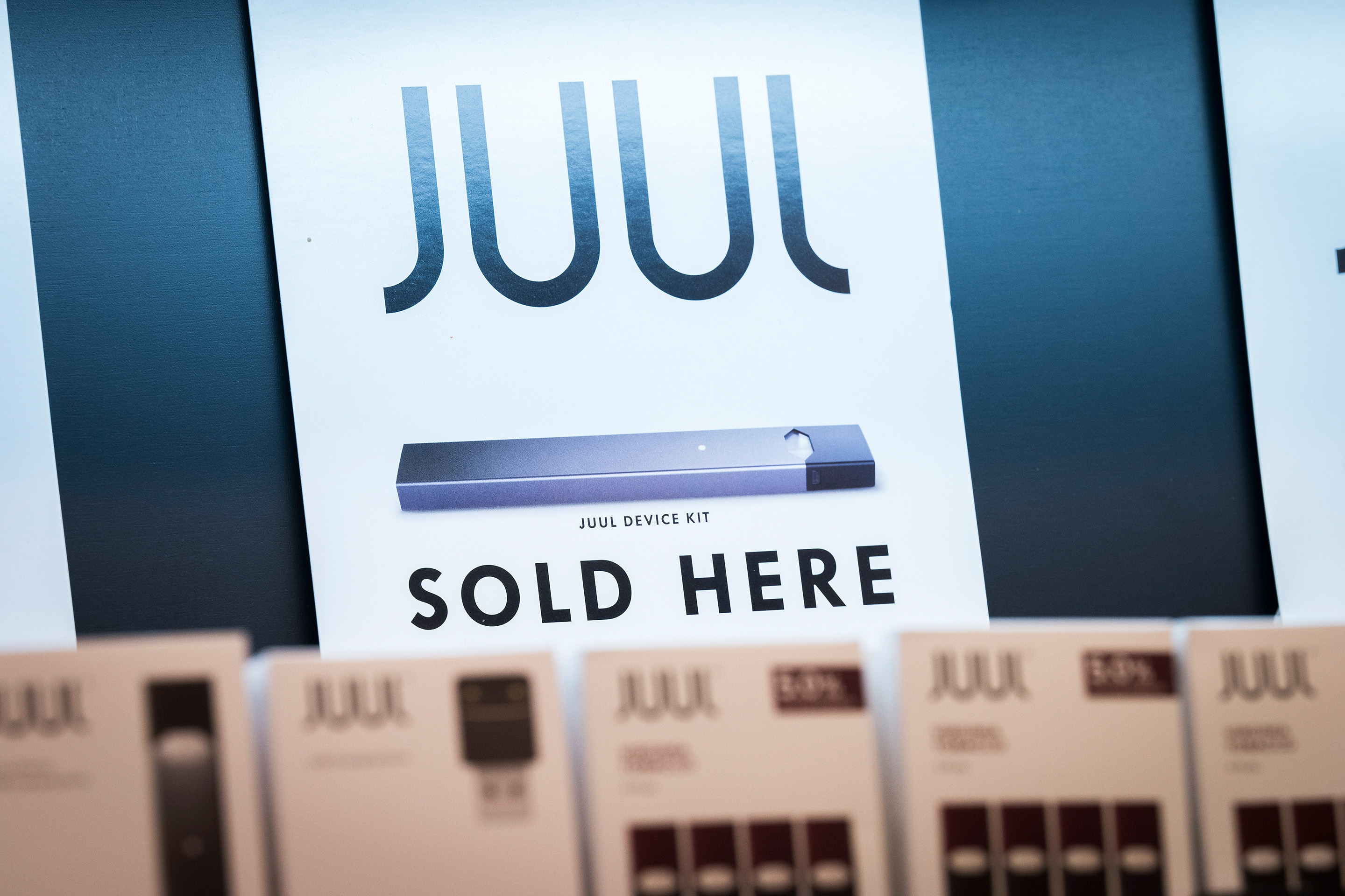 Juul Pods Packages in Store