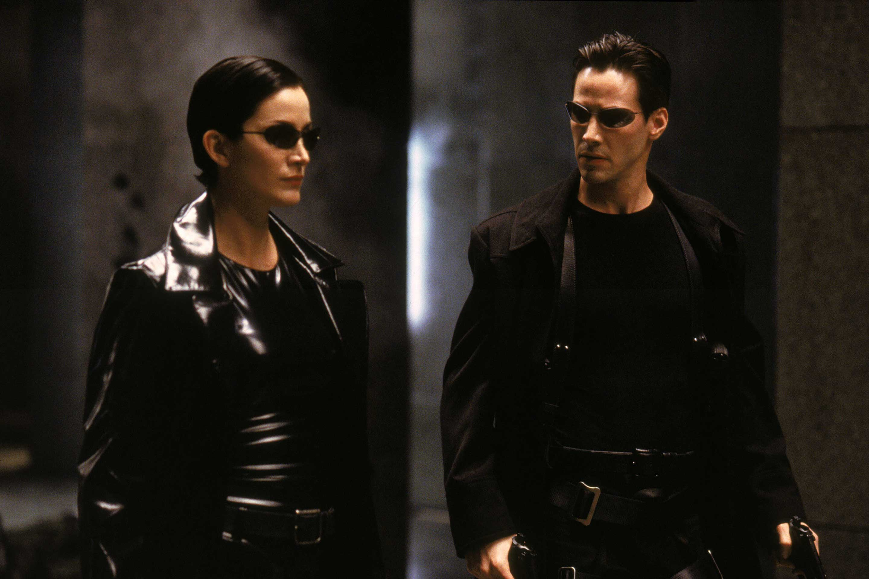 the matrix-keanu reeves-Carrie-Anne Moss