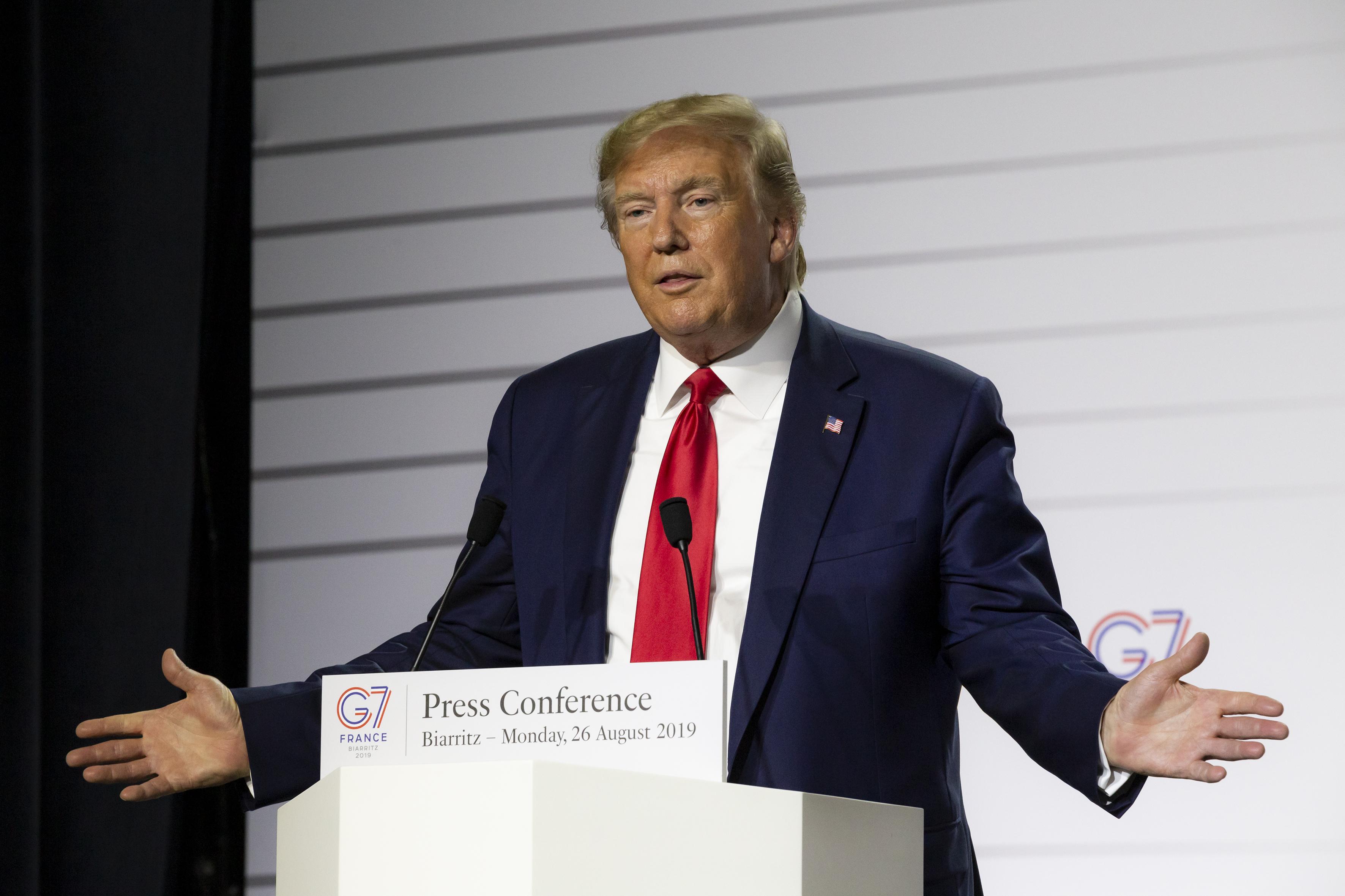 Donald Trump at G7