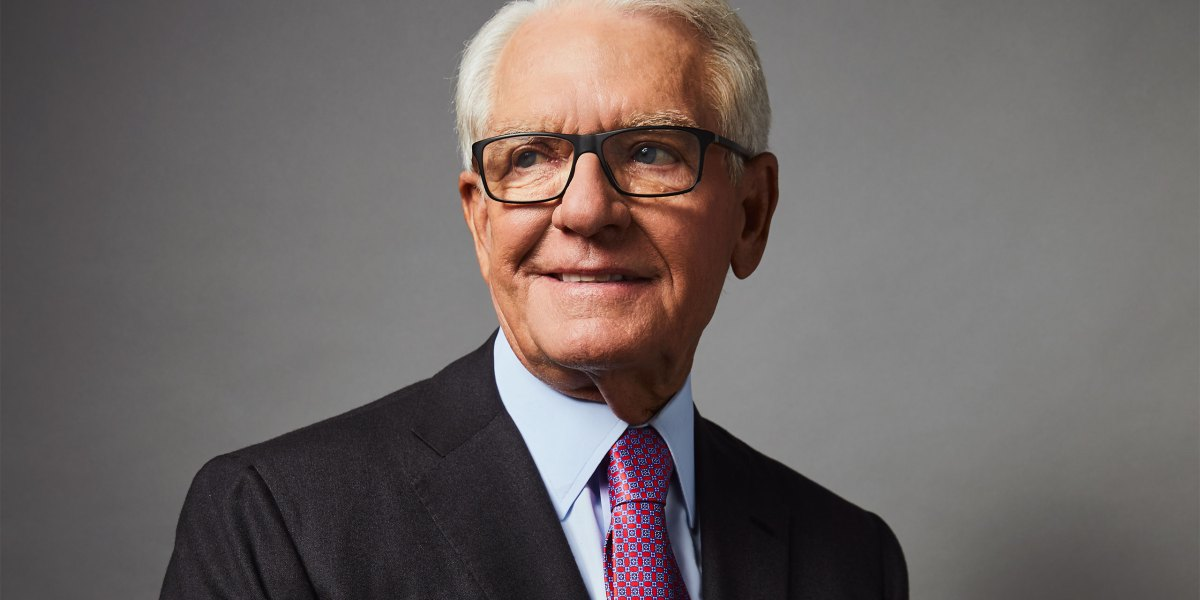Charles Schwab on the Lessons He's Learned Over a Lifetime of Investing