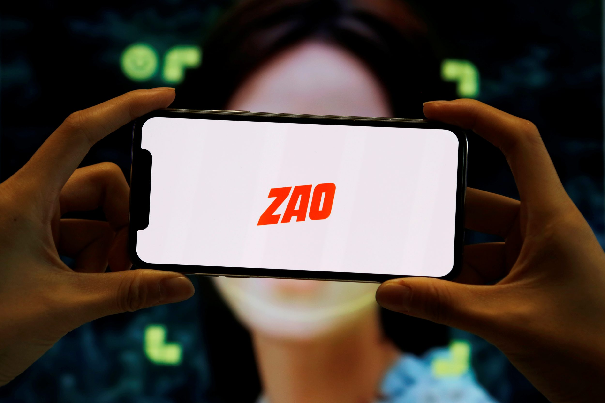 Illustration picture of Chinese app ZAO