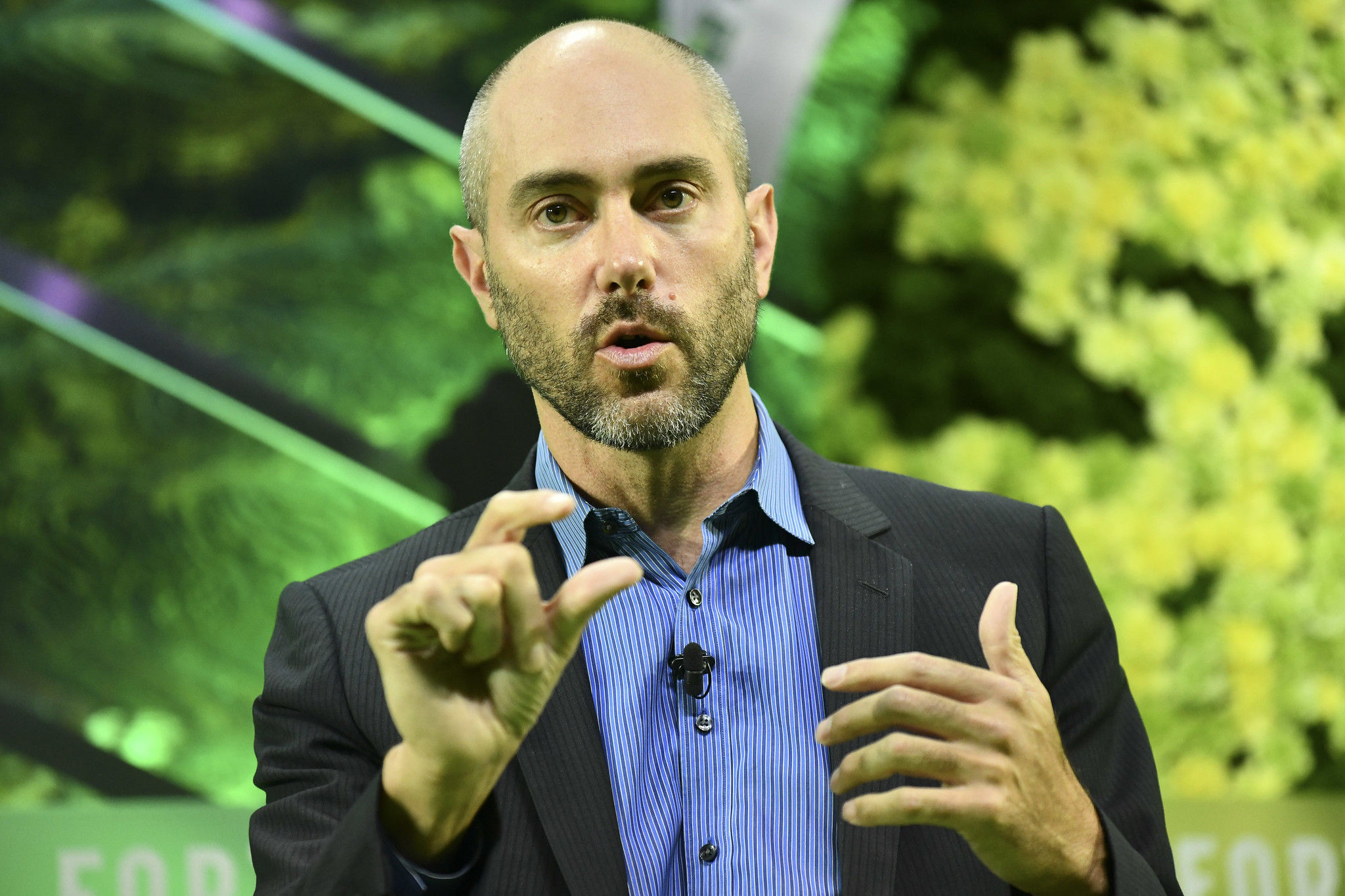 David Rosenberg, CEO of AeroFarms speaks at the Fortune Global Sustainability Forum on Thursday, September 5th in Yunnan, China.