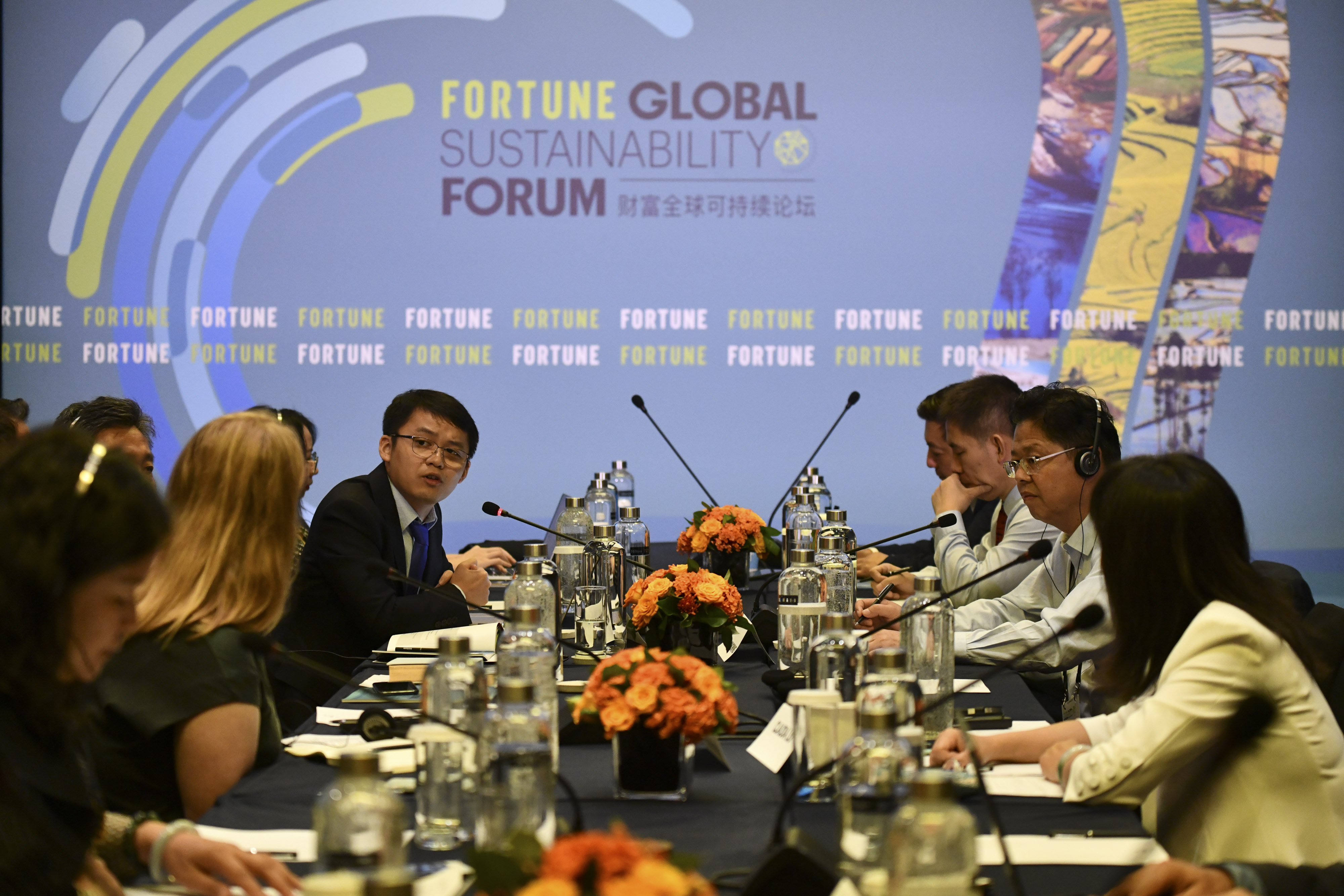 024B Fortune Global Sustainability Forum 2019 Thursday, September 5th, 2019 Yunnan, China 2:00pm-2:50pm CONCURRENT SESSIONS: BEHIND THE GREEN CURTAIN Choose 1 of 3 SMART WHEELS: WHO'S LEADING THE CHARGE? What's the potential, and what are the pitfalls, on the road from the gasoline-powered present to an electric-car future? How can the broad transportation system accommodate and encourage the pump-to-plug shift? A discussion with executives trying to speed the transition. Christina Lampe-Onnerud, Founder and CEO, Cadenza Innovation Freeman Shen, Founder, Chairman, and CEO, WM Motor Zhang Congming, General Manager and Vice Chairman, Yunnan Communications & Investment Co. Andy Zheng, Founder, Aspiring Citizens Cleantech; Adjunct Fellow, Lee Kuan Yew Centre for Innovative Cities Interviewer: Katherine Dunn, Associate Editor, FORTUNE Photograph by Stefen Chow/Fortune