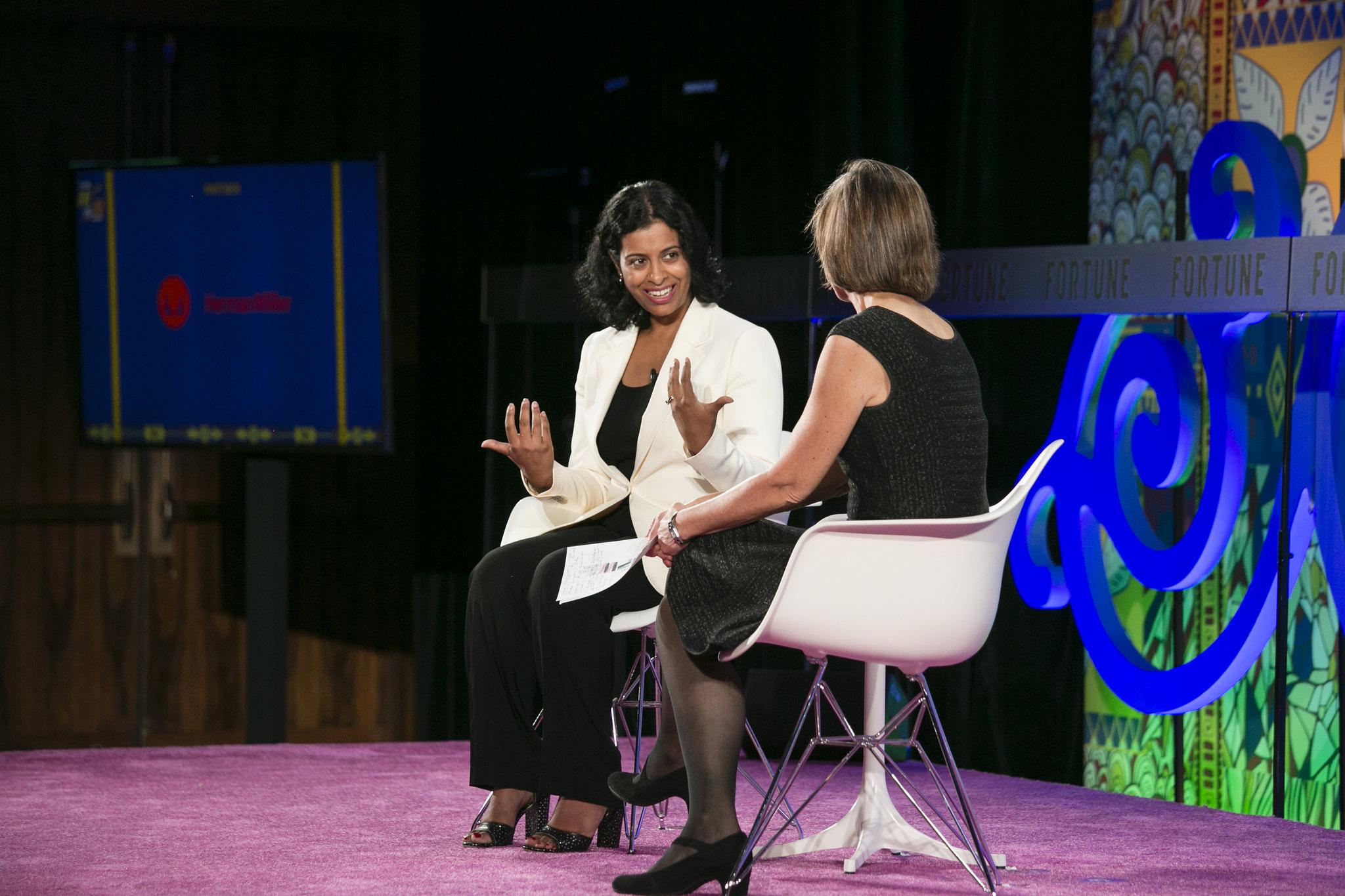 Neela Montgomery, CEO of Crate & Barrel, at MPW International Summit
