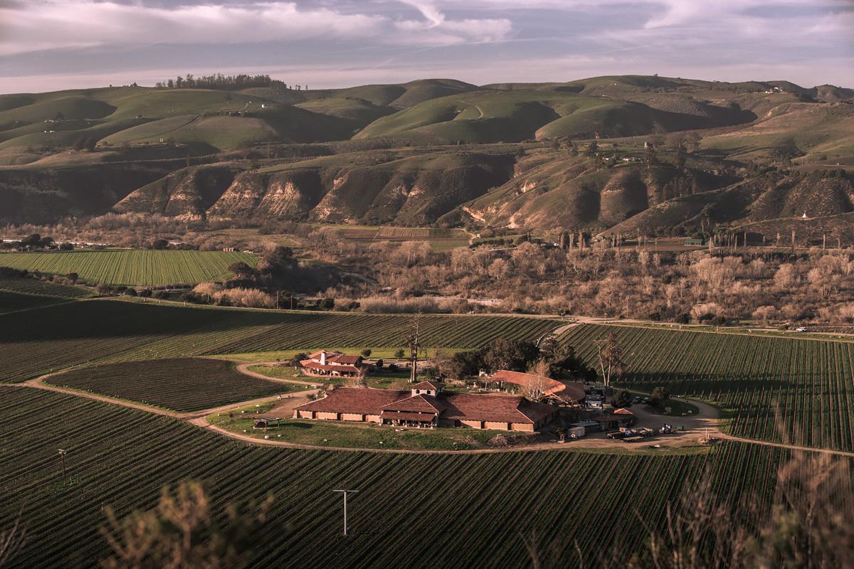 The Sanford Winery & Vineyards in Santa Barbara County, Calif.