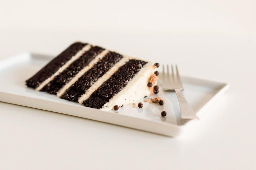 Bellingham Restaurants-Saltadena-chocolate Salt & Pepper Cake Slice