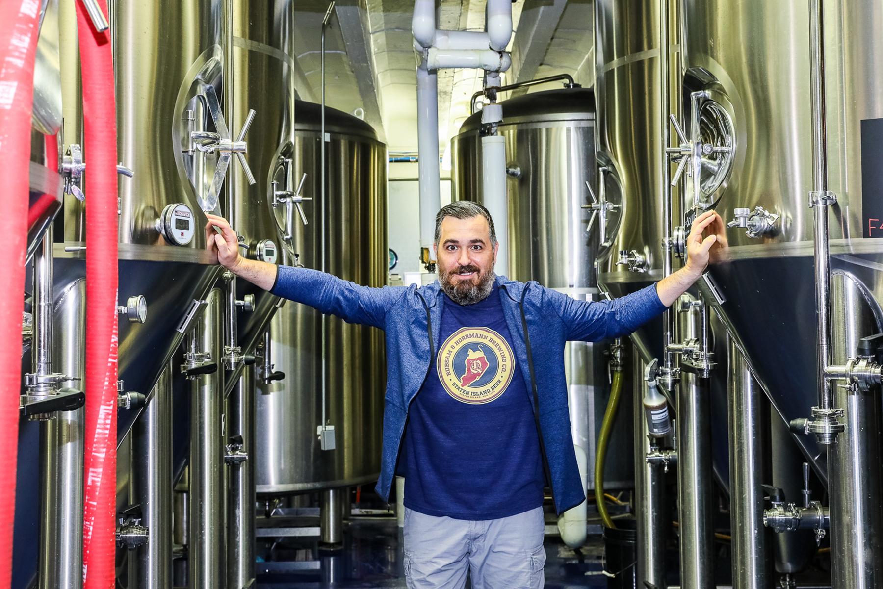 Brian Quinn-Q beer brewery launch